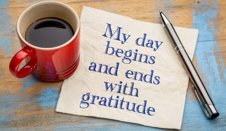Gratitude is the Gateway